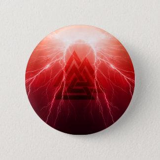 Viking Storm 6 Cm Round Badge