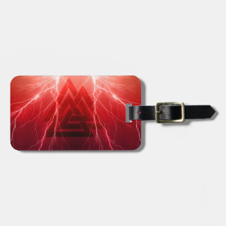 Viking Storm Luggage Tag