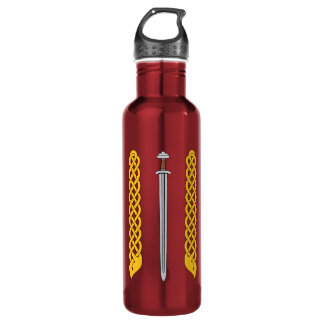 Viking Sword and Plaitwork 710 Ml Water Bottle