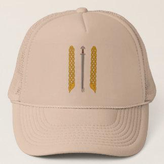 Viking Sword and Plaitwork Trucker Hat