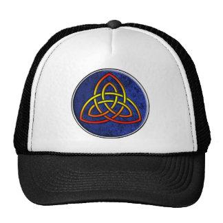 viking tribal knot trucker hat