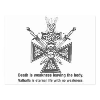 Viking Valhalla - Weakness Leaving The Body Postcard