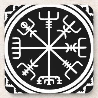 Viking Vegvisir Compass Coaster