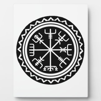 Viking Vegvisir Compass Plaque