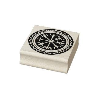 Viking Vegvisir Design Rubber Stamp Tool