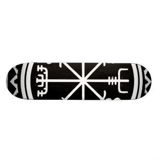 Viking Vegvisir Nautical Compass Skateboard