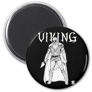 Viking Warrior Magnet