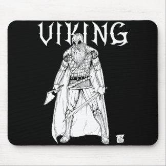 Viking Warrior Mouse Pad