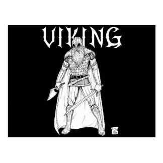 Viking Warrior Postcard