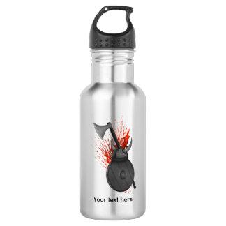 Viking Weapons  Of War And Blood Splatter 532 Ml Water Bottle
