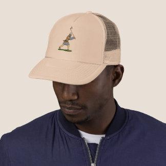 Viking Wielding Broad-Axe Trucker Hat