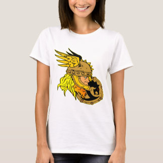 Viking with Shield Asgard Odin Thor Valhalla T-Shirt