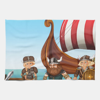 Vikings Hand Towel