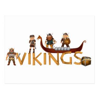 Vikings Postcard