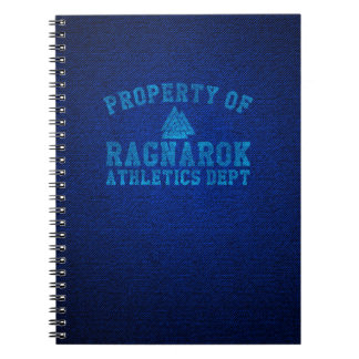 Vikings Property of Ragnarok Athletics Department Notebooks
