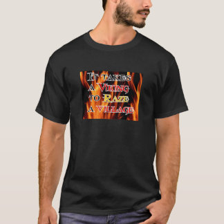 Vikings Raze Village T-Shirt