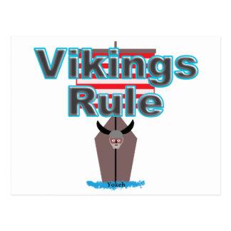 Vikings Rule Postcard