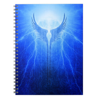 Vikings Valkyrie Wings of Protection Storm Notebooks