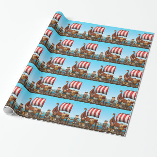 Vikings Wrapping Paper