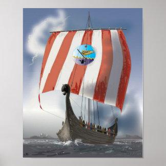 VikingShip Poster