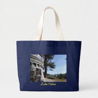Vikingsholm- Lake Tahoe Jumbo Tote Bag