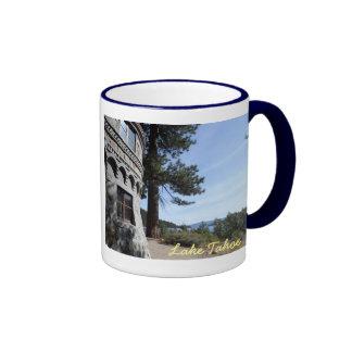 Vikingsholm- Lake Tahoe Ringer Mug