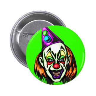 Vile Evil Clown Pin