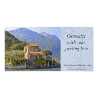Villa Balbianello, Lake Como Photocard Photo Greeting Card
