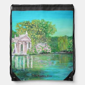 Villa Borghese, Drawstring Backpack