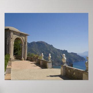 Villa Cimbrone, Ravello, Campania, Italy Poster