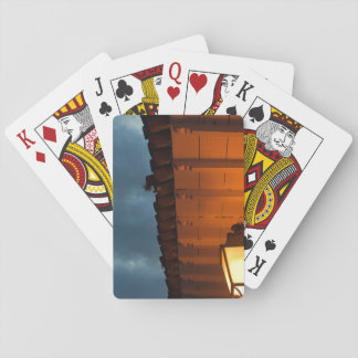 Villa de Nocturnal Leyva Playing Cards