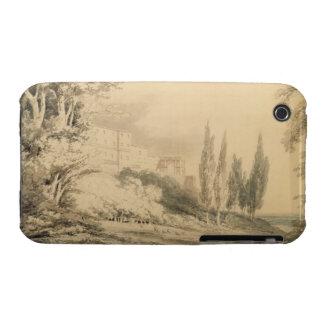 Villa d'Este, c.1796 (blue & grey wash over graphi iPhone 3 Covers