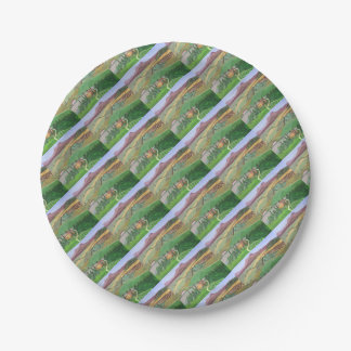 Villa in the Hill 7 Inch Paper Plate