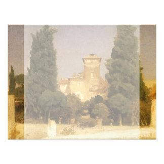 Villa Malta, Rome by Lord Leighton Flyer