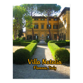 Villa Natalia Florence Italy Postcards