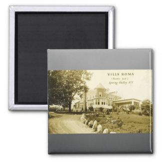 Villa Roma Route 305 Spring Valley N Y Vintage Magnet