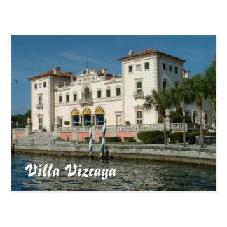 Villa Vizcaya Postcard