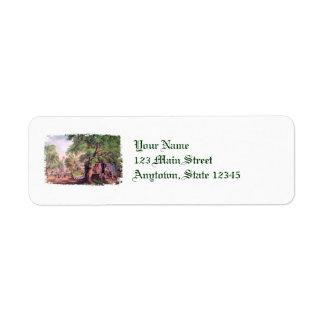 Village Blacksmith Return Address Labels
