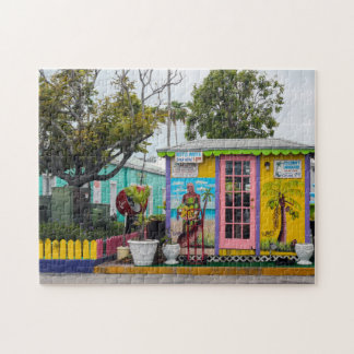 Village Cottage Bahamas. Puzzle