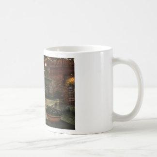 Village Fountain Coffee Mug