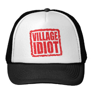 Village Idiot stamp Cap