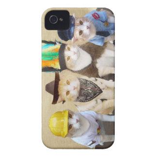 Village Kitties Case-Mate iPhone 4 Case