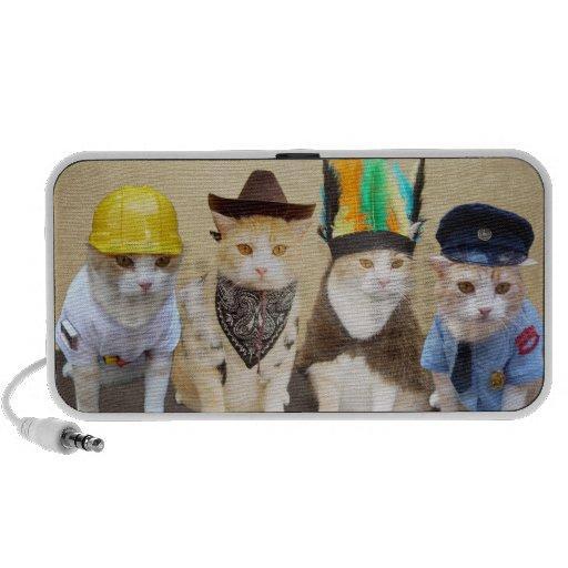 Village Kitties Travel Speaker