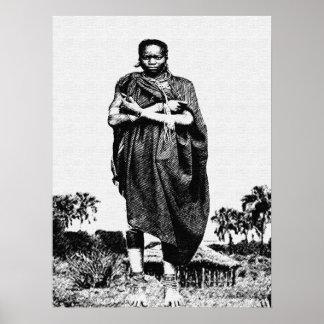 Village Mother Poster