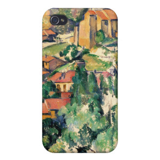 Village of Gardanne, Paul Cézanne Case For iPhone 4
