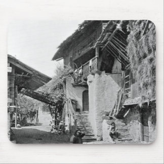 Village of Valais, early 20th century Mouse Pad