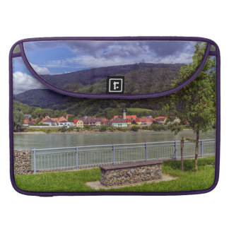 Village of Willendorf on the river Danube, Austria Sleeve For MacBooks