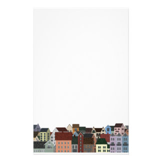 Village Panorama Stationery
