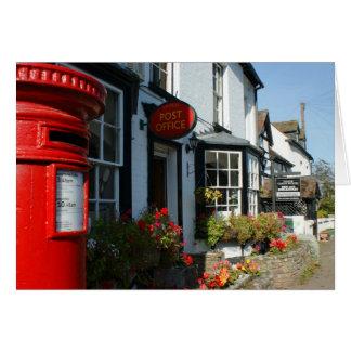 Village Post Office Card