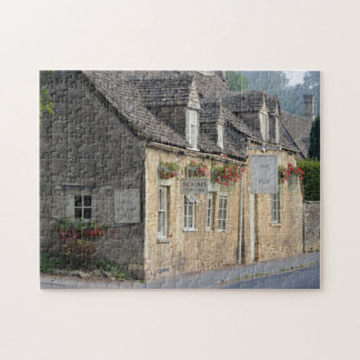 Village pub in the Cotswolds jigsaw puzzle